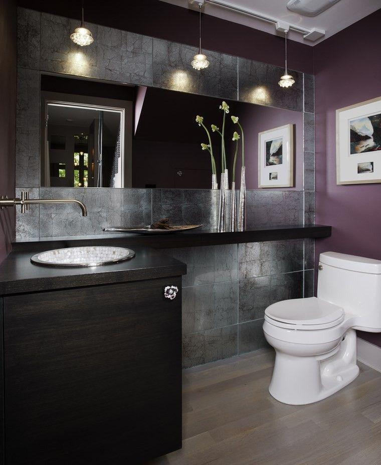 Baos bonitos con lavabos de diseo 36 ideas