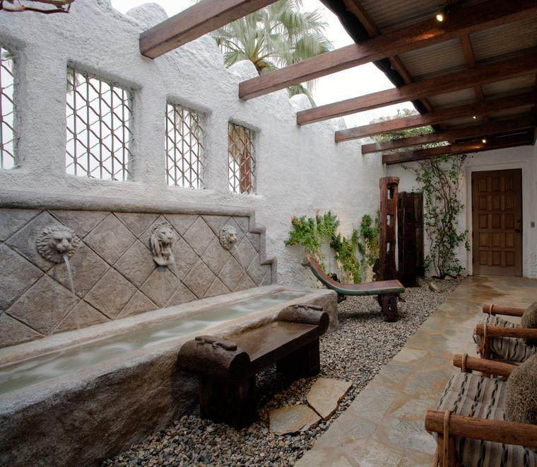 Terrazas cubiertas decoracion y diseo  48 ideas