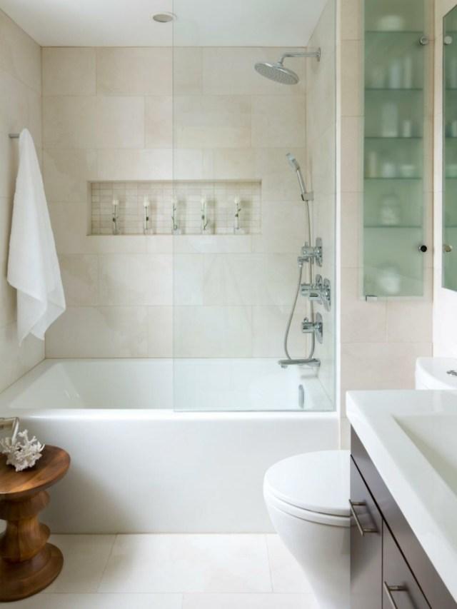 como decorar un baño pequeño y sencillo meubles madera
