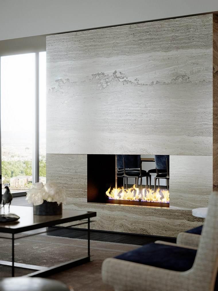 Decoracion chimeneas modernas para decorar y calentar