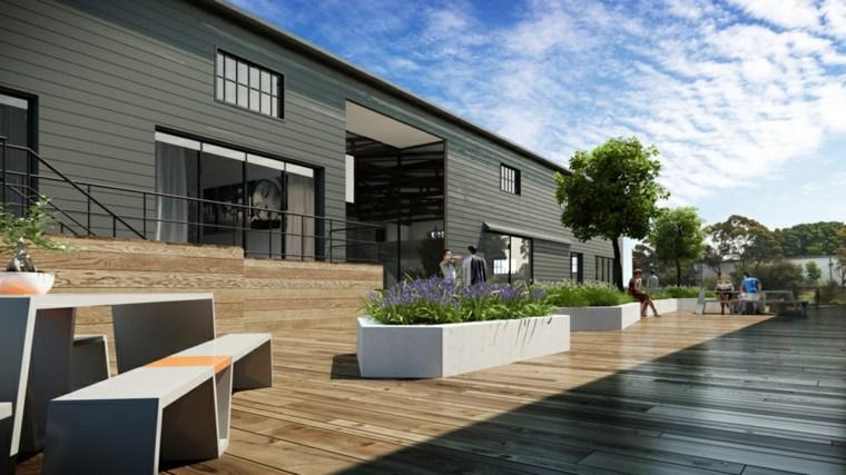 Banco para terraza  el asiento perfecto para el exterior