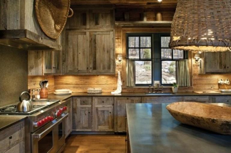 Decoracin de cocinas rsticas  50 ideas originales