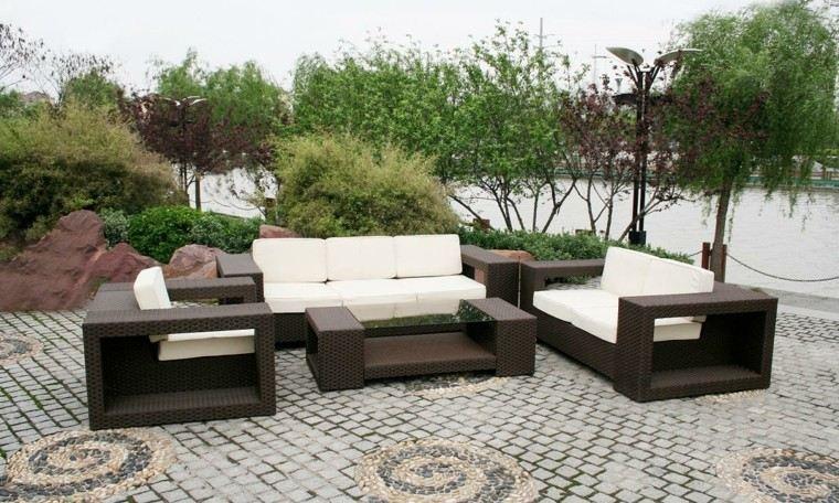 Muebles de terrazas de diseo moderno  38 diseos