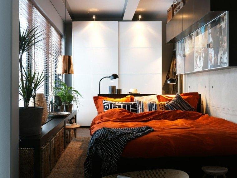 Ideas de decoracion para dormitorios pequeos  38 fotos