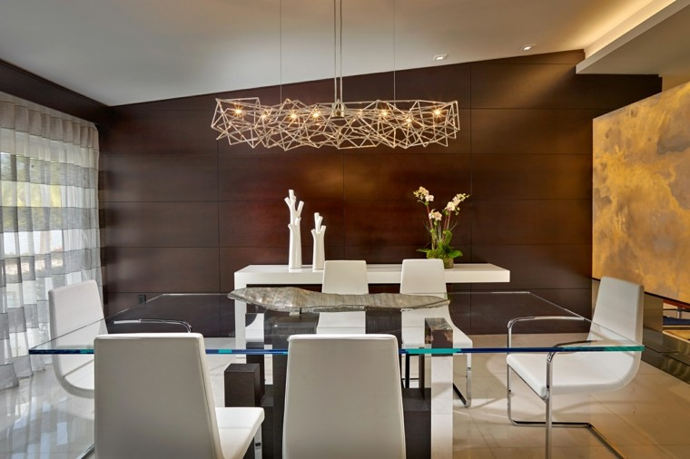 Comedores de diseo inspirador elegante y moderno