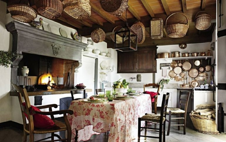 Decoracin de cocinas rsticas  50 ideas originales