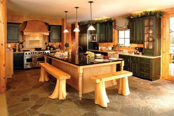 unique kitchen decorating ideas Decoración de cocinas rústicas - 50 ideas originales