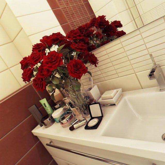 rosas frescas flores metales color diy