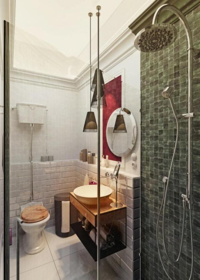 vertical ducha moderna estilos lamparas