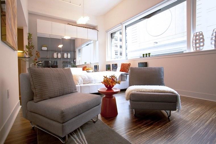 Decoracion apartamentos pequeos  cincuenta ideas