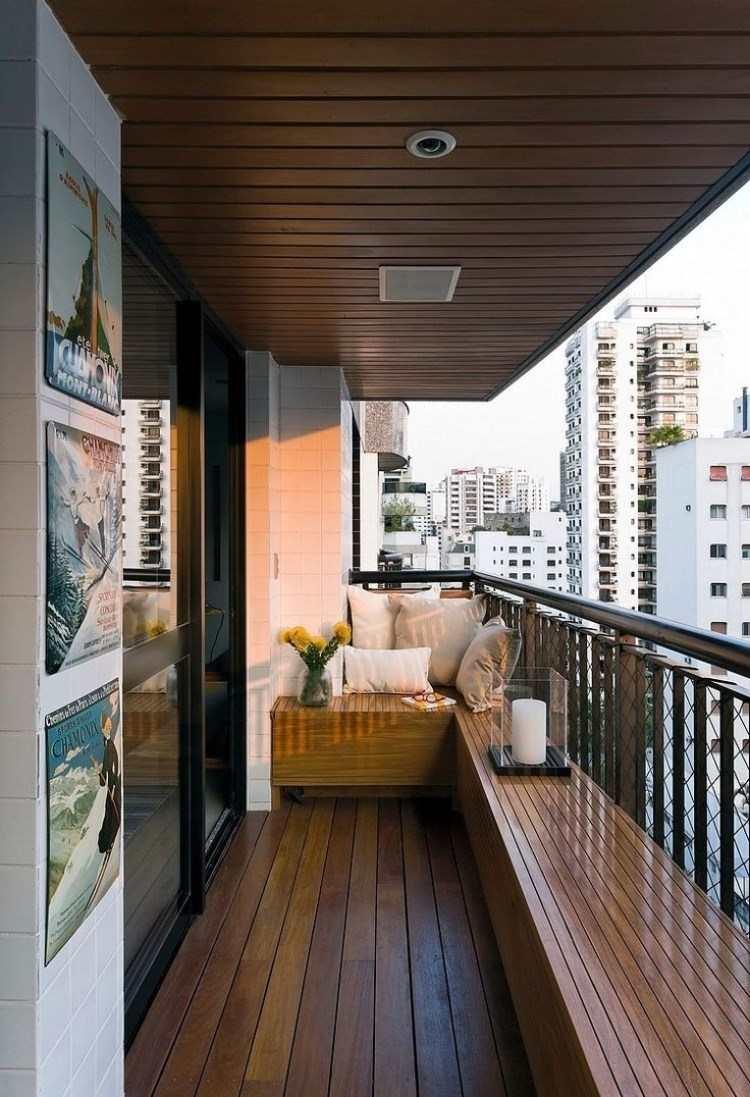 Belleza pura para el balcn en 50 ideas de muebles