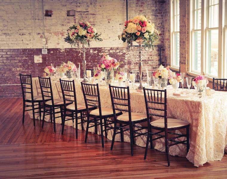 mesa boda diseño vintage