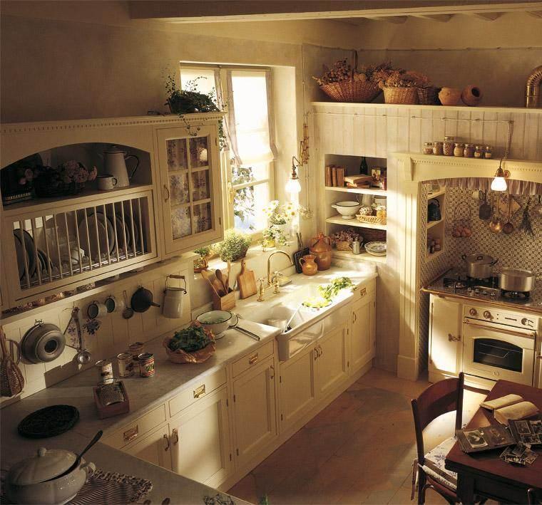 Decoracin de cocinas antiguas  38 ideas geniales