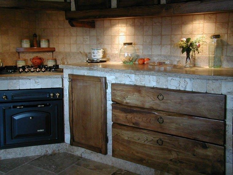 Cocina Obra Rustica Fotos