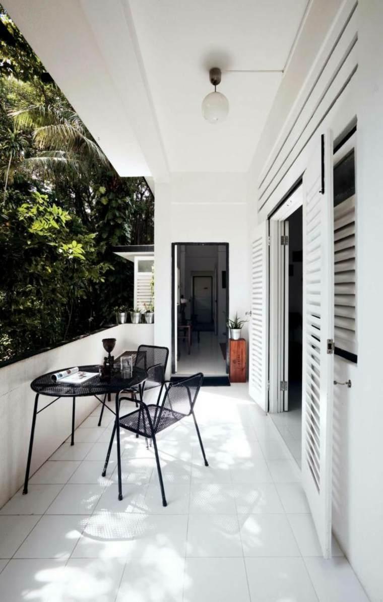 Decoracion balcones ideas originales de muebles