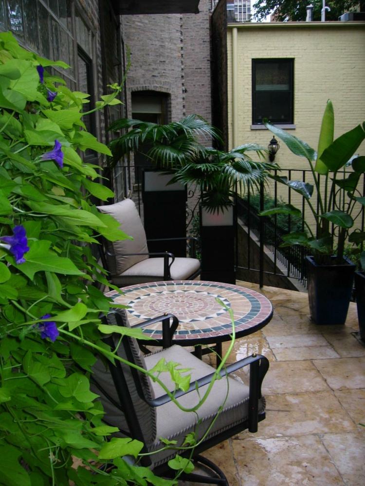 Decoracion terrazas pequeas y medianas muy funcionales