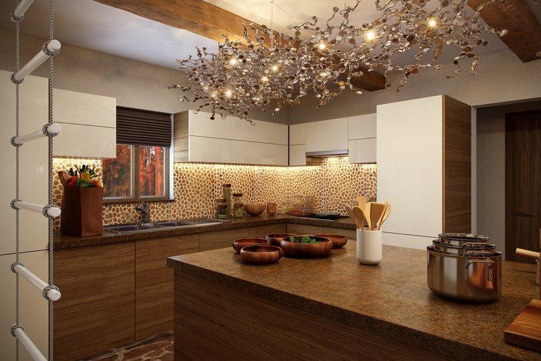 Decoracion cocinas pequeas con estilo y modernidad