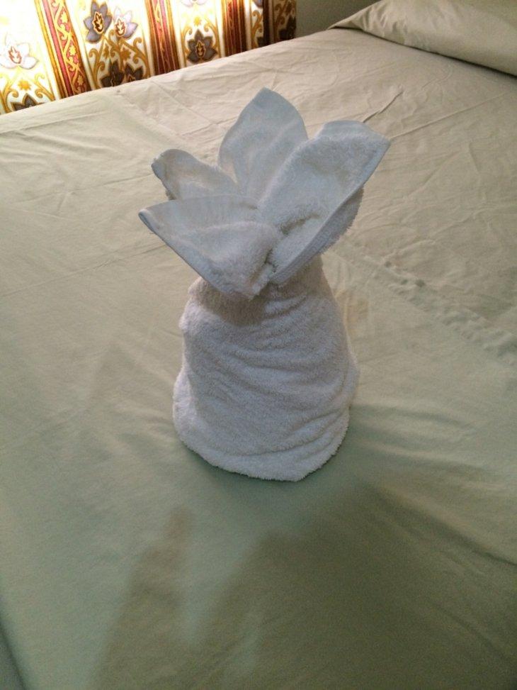 Origami con toallas  ideas creativas para todos