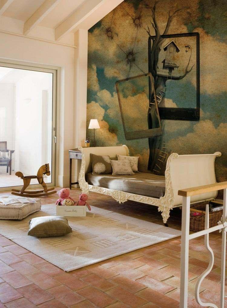 Papeles pintados para la decoracin de paredes  38 diseos