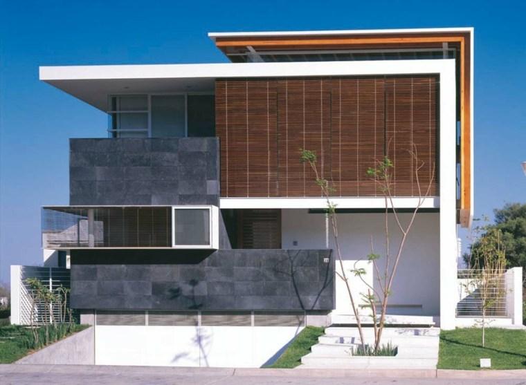 Fachadas de casas modernas  treinta y ocho diseos