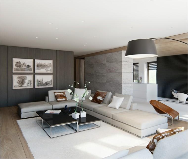 Ideas decoracion interiores  50 salones de diseo