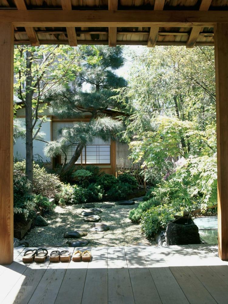 Jardin japones ideas para ambientes de meditacin
