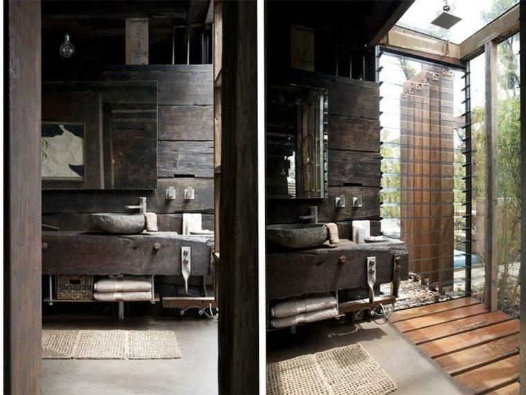 Lavabos rsticos ideas para cada tipo de bao
