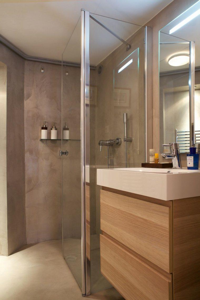 Armarios de bao y muebles lavabo de madera  50 ideas