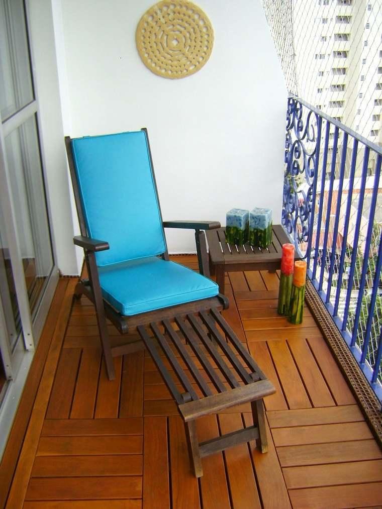 Decoracion de balcones y terrazas pequeas  99 ideas