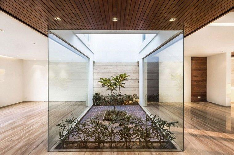 Patios interiores pequeos  ideas para una decoracin