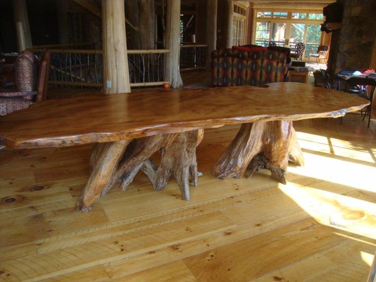 Mesas de comedor modernas de madera maciza  ms de 50 ideas
