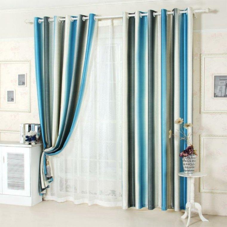 Decoracion cortinas salon  los 50 diseos ms modernos