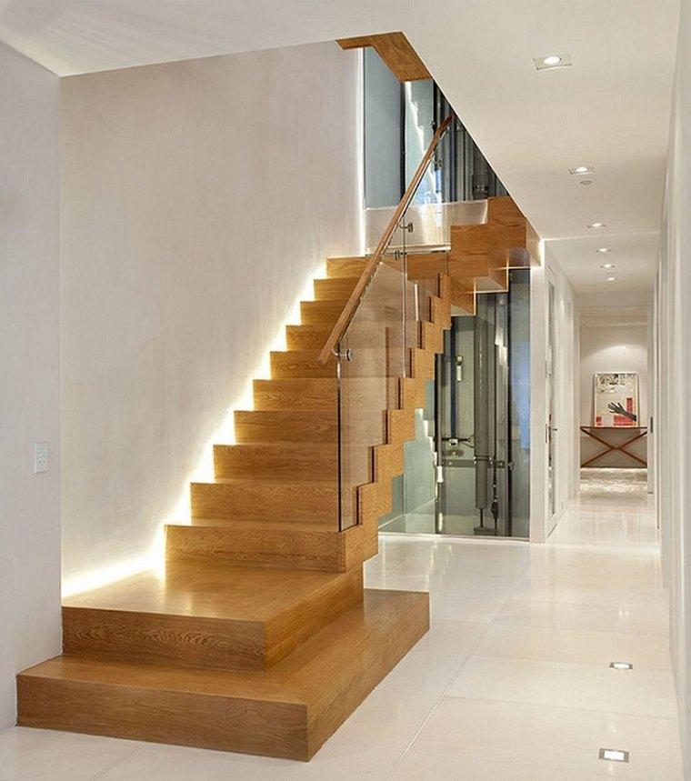 Escaleras de interior modernas  50 diseos que marcan tendencia