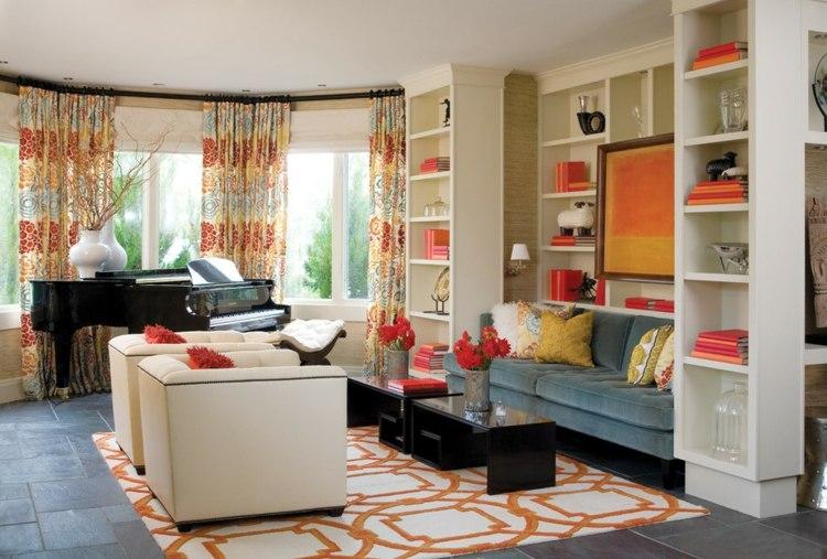 Decoracin de salones modernos  muebles y accesorios