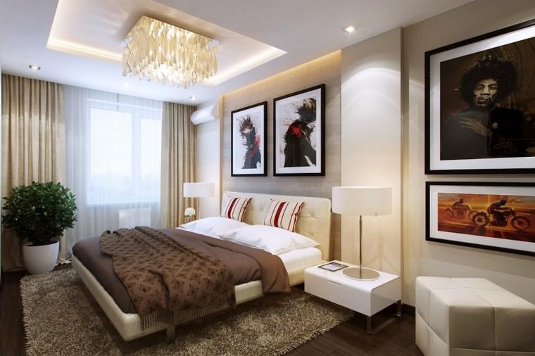Cuadros decorativos y ms ideas para decorar el dormitorio