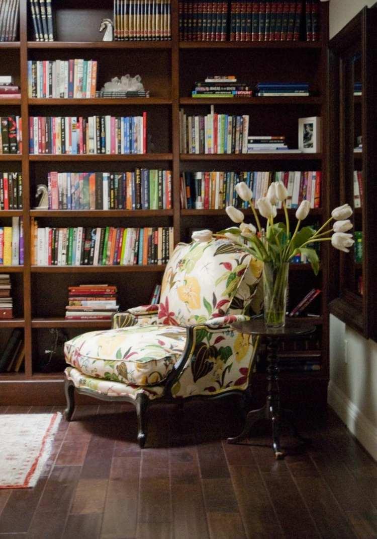 Librerias para salon  diseos modernos y funcionales