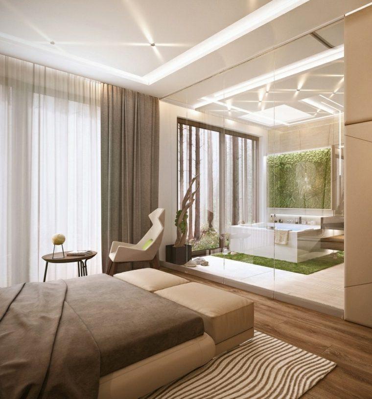 Dormitorios con vestidor y bao 50 opciones de diseo