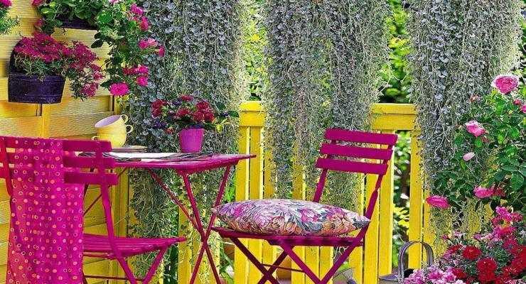 Balcones y terrazas pequeas  cincuenta ideas para decorar