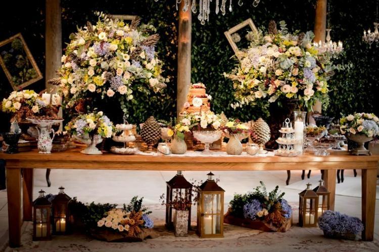 Decoracion de bodas vintage  ambientes romnticos retro