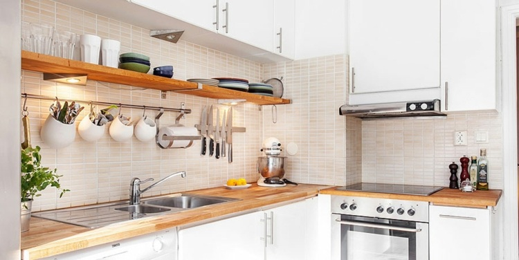 track lighting for kitchens kitchen cabinets paint colors diseños cocinas pequeñas modernas - cincuenta modelos