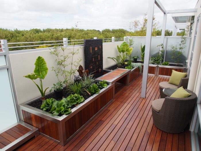 Terrazas con jardin 50 ambientes perfectos para el