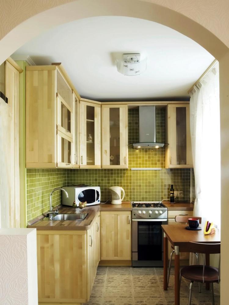 Cocinas pequeas modernas  los 25 diseos ms funcionales