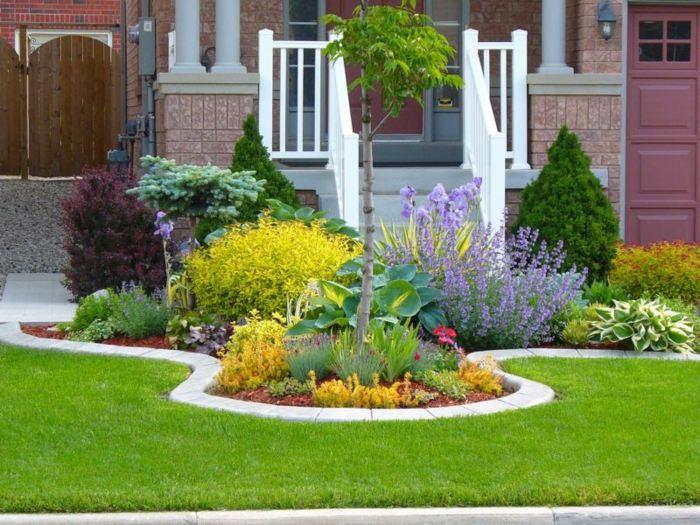 Bordillos para jardin definiendo espacios coloridos y naturales