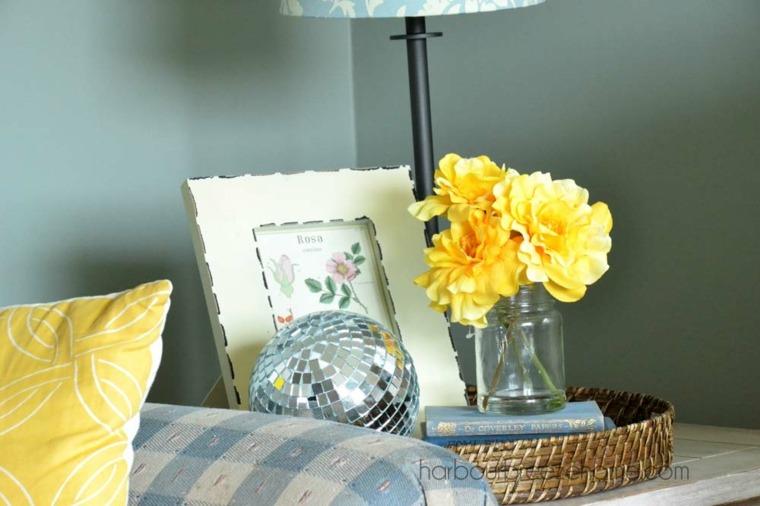 Ideas para decorar la sala de estar en primavera
