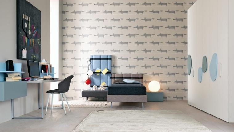 Pintar paredes o poner papel de pared 50 habitaciones de
