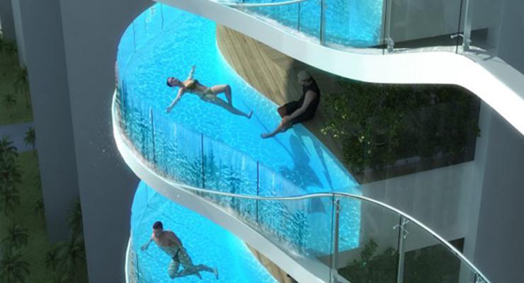 Fotos de piscinas alucinantes  los diseos ms modernos
