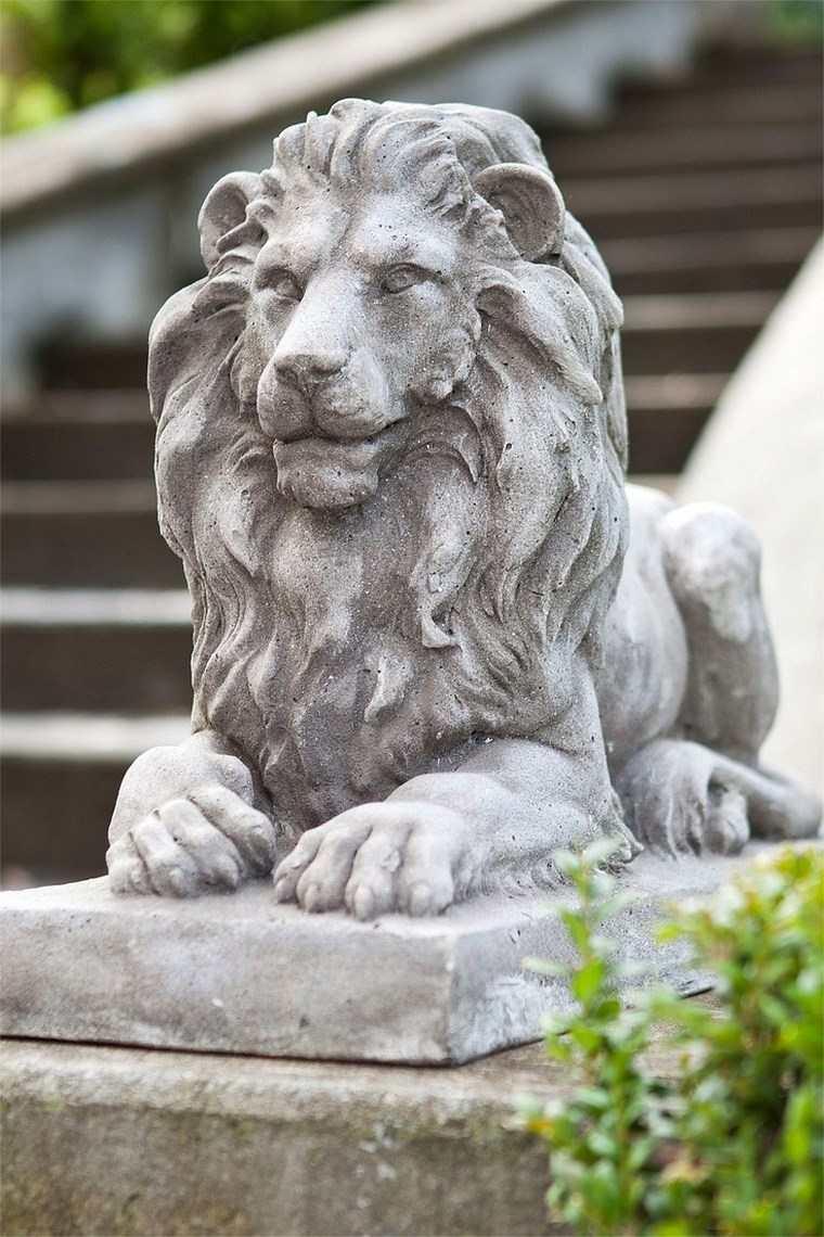 Estatua en el jardn 25 ideas para decoracin exterior