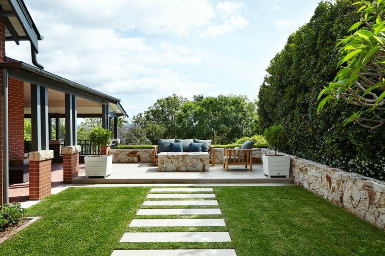 Diseo de jardines 50 ideas frescas y modernas