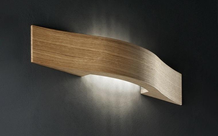 Lamparas de pared 50 diseos naturales de madera