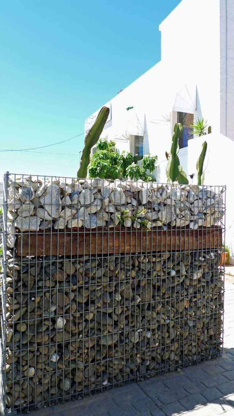 Gaviones y muros de alambre y piedras  63 diseos
